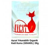 Aycat Yıkanabilir Kedi Kumu 3 kg.