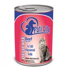 Pati Life Beef Sığır Etli Kedi Konservesi 415 gr
